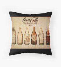 Coca-Cola Vintage Poster Throw Pillow