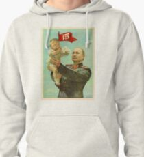 Trump and Putin Pullover Hoodie