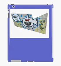 shark eating cops iPad Case/Skin