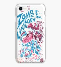 Attack Of The Zombie Unicorn iPhone Case/Skin