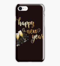Happy New Year's T-Shirt Funny 2018 New Year's Eve Fresh Start Men Women's Tee iPhone Case/Skin