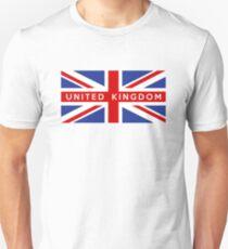 flag of United Kingdom T-Shirt