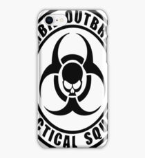 Zombie Outbreak Tactical Squad iPhone Case/Skin
