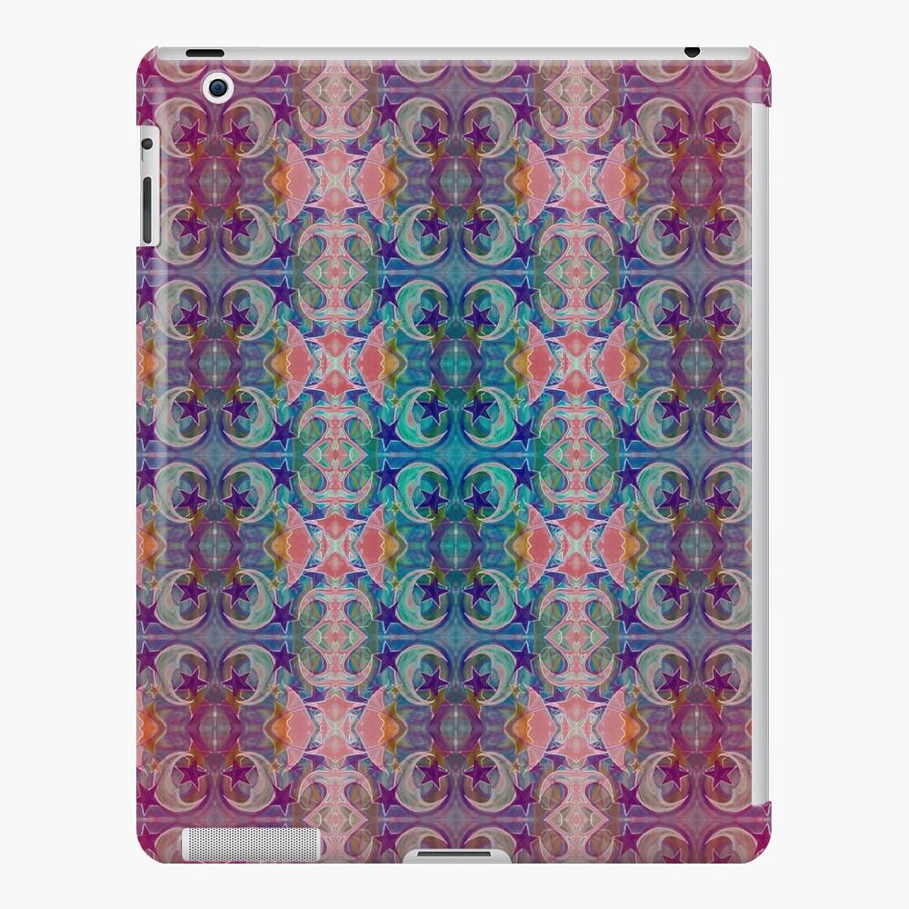 Moon Stars Ornate Pattern iPad Case & Skin