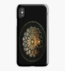 Medallion Window ~ Winter Sunset iPhone Case