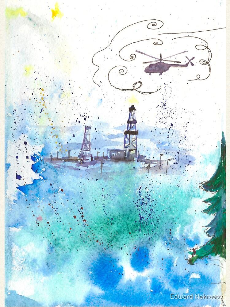 Oil drilling by Sadykova