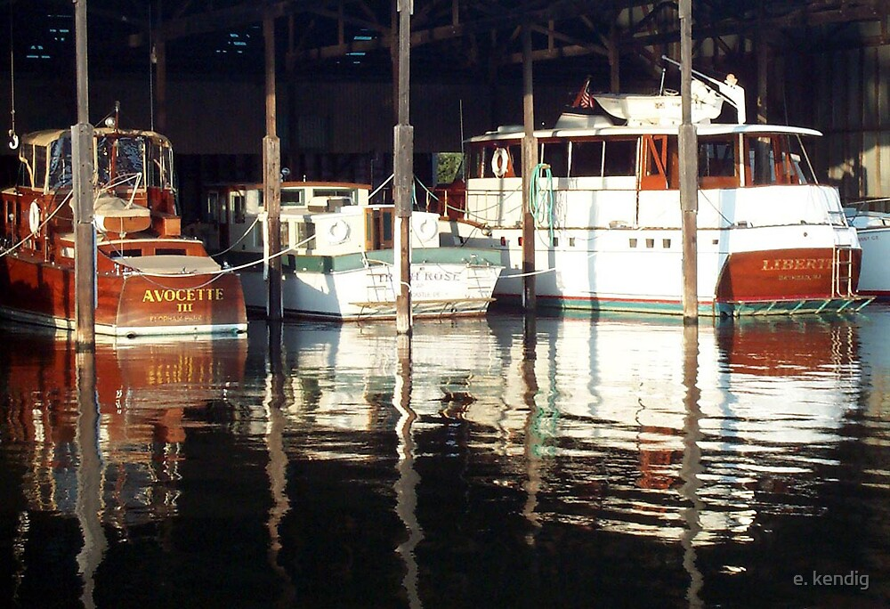 Old Wooden Cruisers by e. kendig