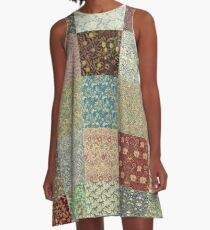 William Morris Pattern Collection A-Line Dress
