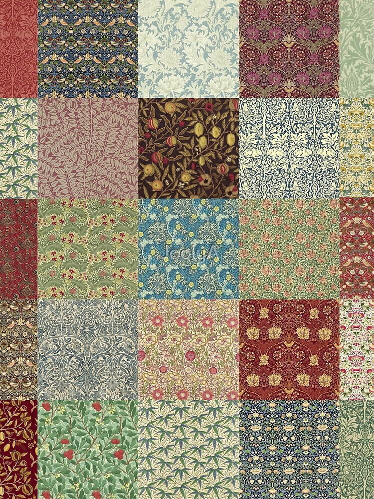 William Morris Pattern Collection by JoolyA