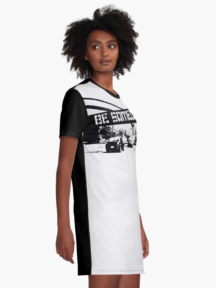 Alternate view of Be Someone - Houston Graphic T-Shirt Dress