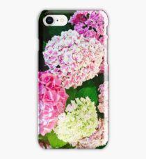 Beatiful Colors of Hydrangeas iPhone Case/Skin