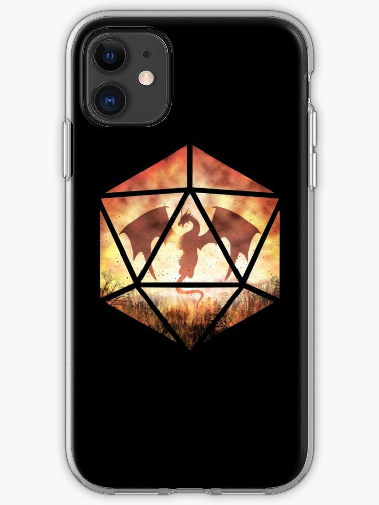 Amazing Dragon Fire iphone case