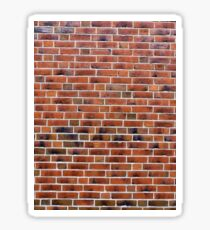 Brick wall with joints.  Sticker