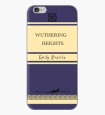 Wuthering Heights Retro Book Cover iPhone Case