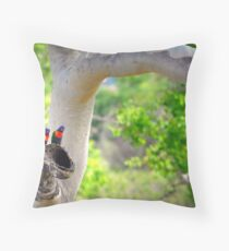 Location Location Location Throw Pillow