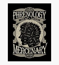Phrenology of a mercenary - Berserk Photographic Print