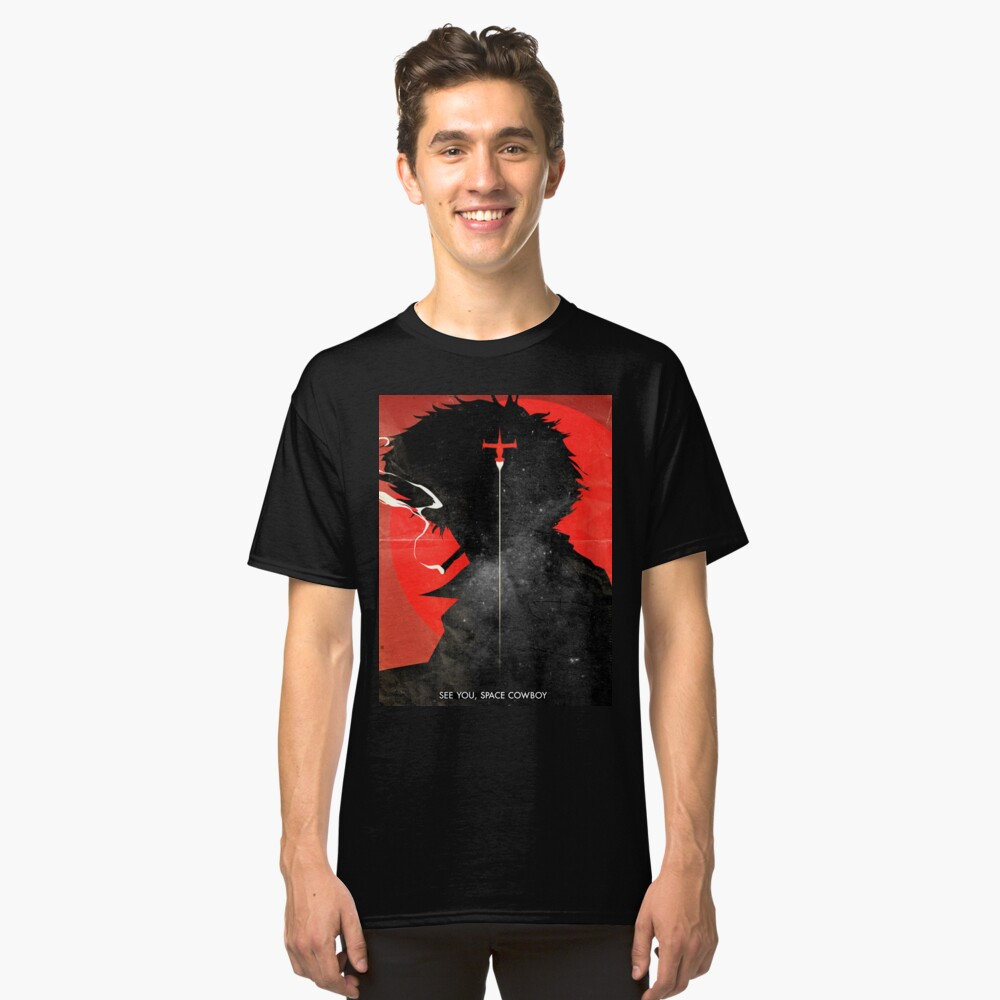 Wir sehen uns, Space Cowboy ver.distressed Classic T-Shirt