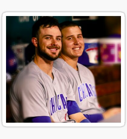 Kris Bryant and Anthony Rizzo Sticker