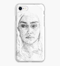 Emilia Clarke Art iPhone Case/Skin