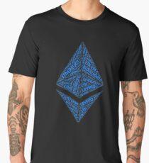 Ethereum BlockChain Revolution Crypto ETH Word Men's Premium T-Shirt