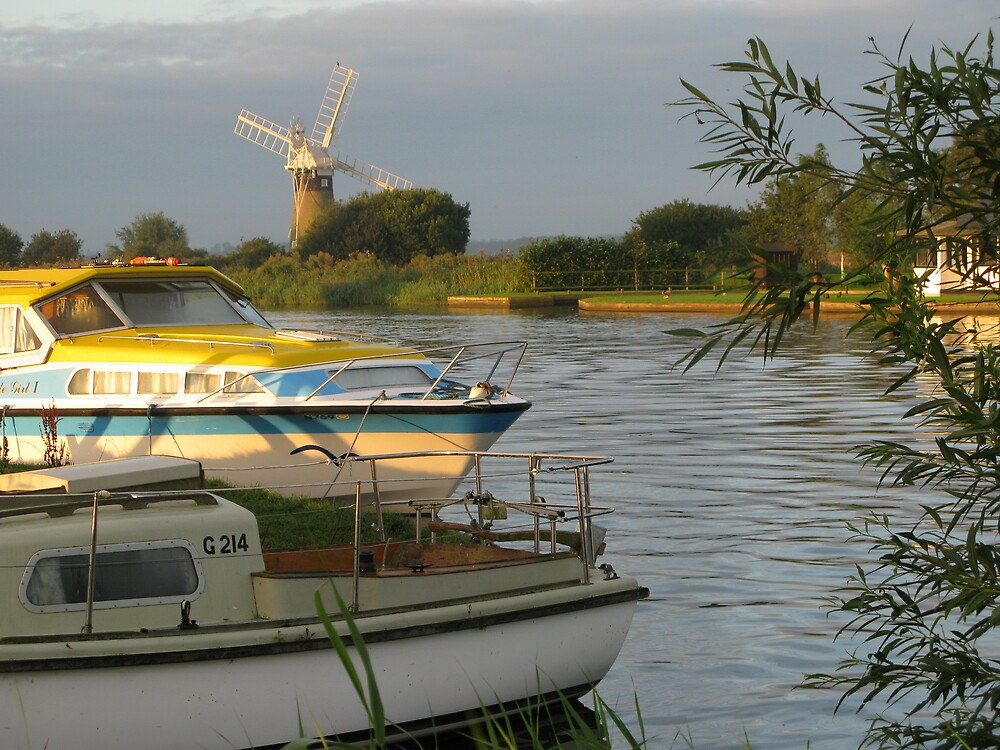 Norfolk Broads by Mike Paget
