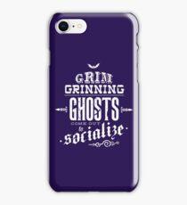 Haunted Mansion - Grim Grinning Ghosts iPhone Case/Skin