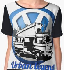VW T25 Urban legend Women's Chiffon Top