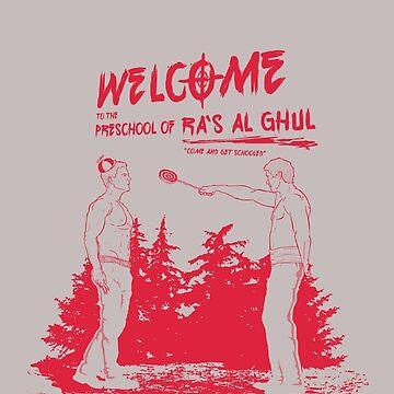 PRESCHOOL OF RA`S AL GHUL by Massucci
