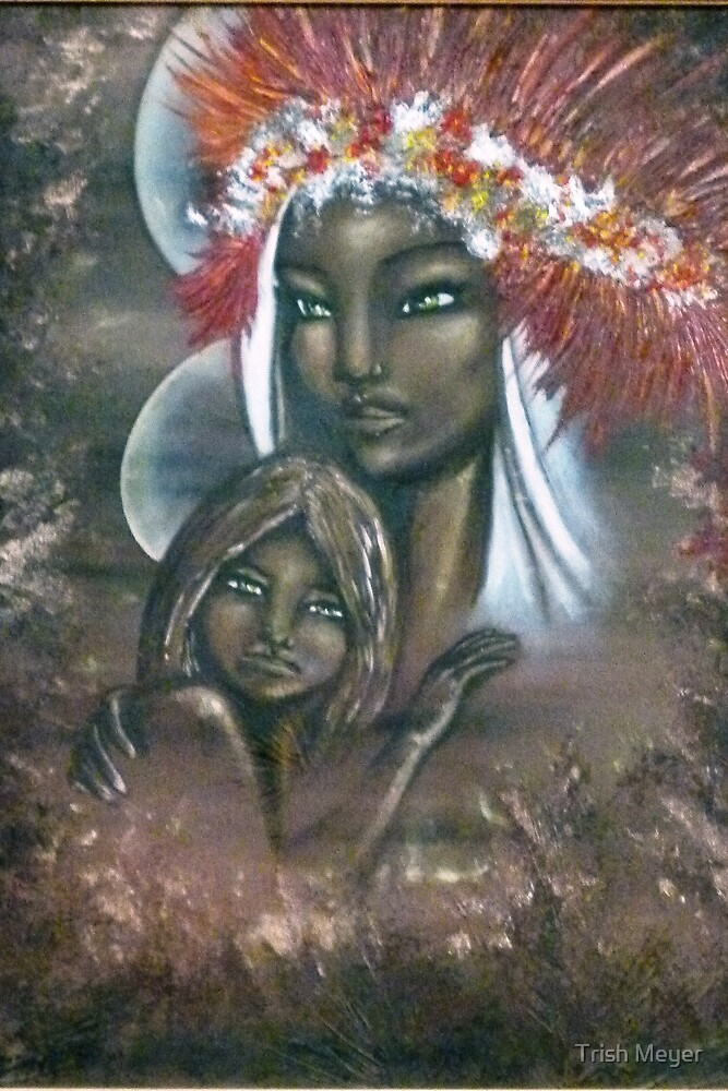 Madonna and Child by Trish Meyer