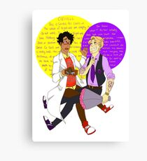 No.1 Couple in Night Vale Canvas Print