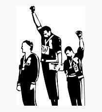 1968 Olympische Spiele Black Power Salute Fotodruck