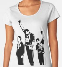 1968 Olympics Black Power Salute Women's Premium T-Shirt