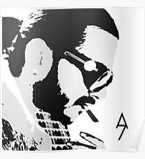 SCH NOIR/BLANC T-SHIRT Poster