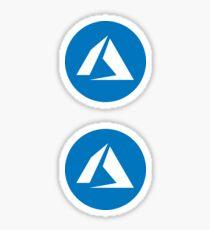 Azure Sticker