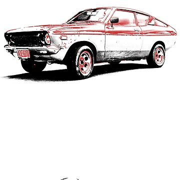 Datsun 120Y Fastback Coupe B210 by DatsunStyle
