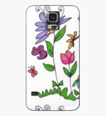 Handrawn Fleur Case/Skin for Samsung Galaxy
