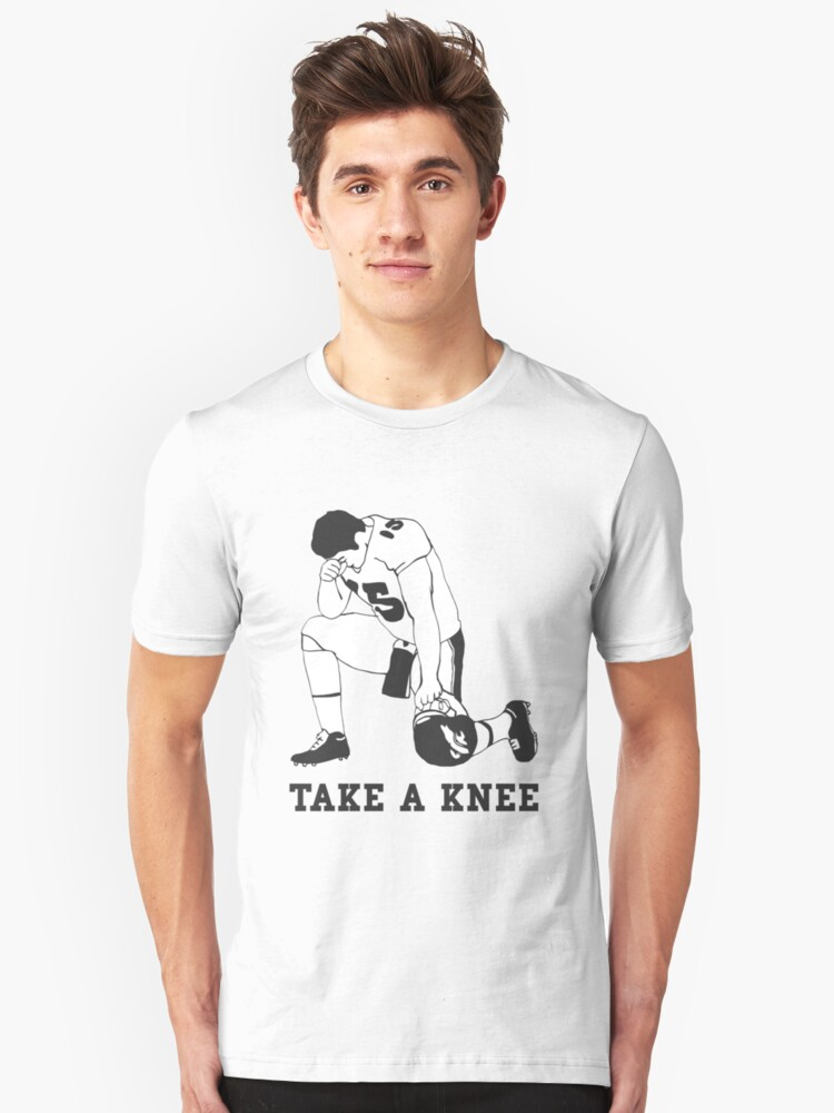 Take a knee Unisex T-Shirt Front