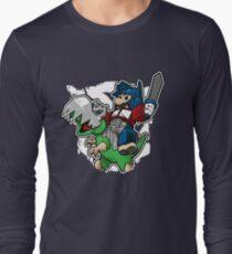 Optimus Mario Camiseta de manga larga