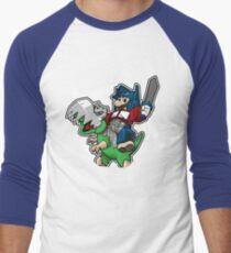 Optimus Mario Camiseta ¾ bicolor para hombre