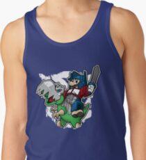 Optimus Mario Camisetas de tirantes para hombre