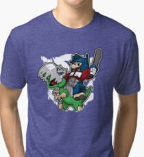 Optimus Mario Camiseta de tejido mixto