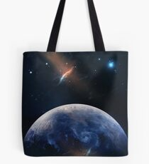 Planet Earth. THE UNIVERSE - Space | Time | Stars | Galaxies | Science | Planets | Past | Love | Design Tote Bag