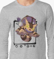 Totoro y Nekobus happy trip Camiseta de manga larga