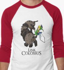 Link y el Coloso Camiseta ¾ bicolor para hombre