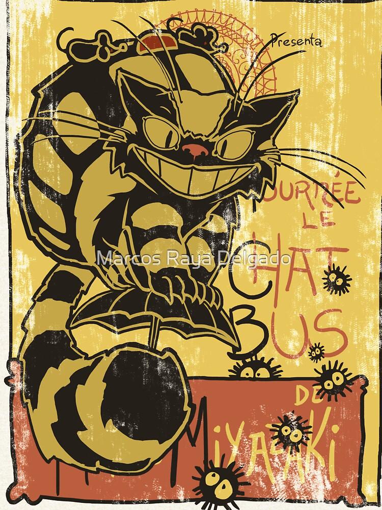 Nekobus, le Chat Noir cartel de DibujarBien