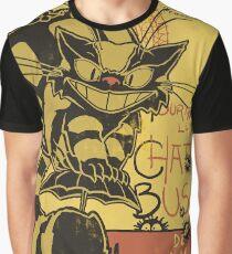 Nekobus, le Chat Noir cartel Camiseta gráfica