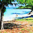 Kailua Beach Park by Angela Treat Lyon