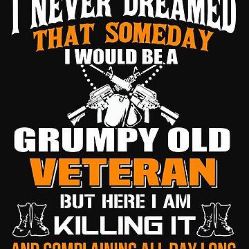 Grumpy Old Veteran by totuong85