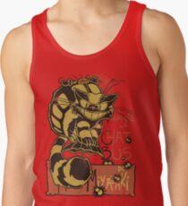 Nekobus, le Chat Noir Camisetas de tirantes para hombre