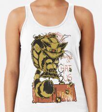 Nekobus, le Chat Noir Camiseta de tirantes para mujer